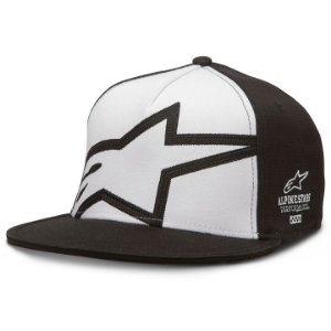 Boné Alpinestars Holeshot Black Original Flex Fit