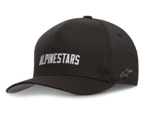 Boné Alpinestars Law Flexfit - Preto/Branco