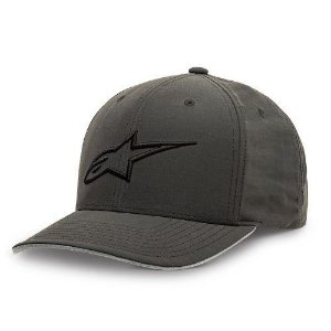 Boné Alpinestars Indulge Curve Charcoal Original Regulagem