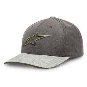 Boné Alpinestars Mixer Charcoal Heather Original Regulagem