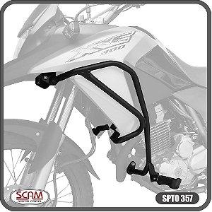 Protetor Motor Carenagem Xre300 Xre 300 pedaleira Spto357