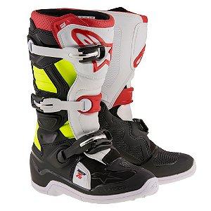 Bota Motocross Alpinestars Tech 7s Infantil Juvenil