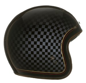 Capacete Bell Custom 500 RSD Check It - Preto/Cinza