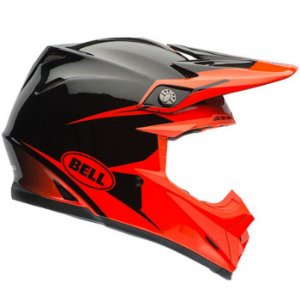 Capacete Bell Motocross Moto 9 Infrared Intake Tricomposto