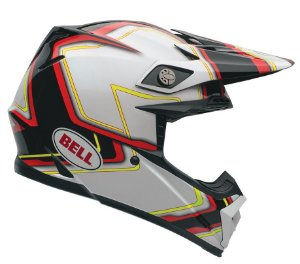 Capacete Bell Motocross Moto 9 Pace Tricomposto Cross