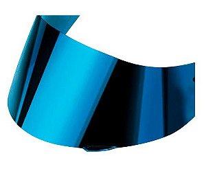 Viseira Espelhada Azul Capacete Ls2 Ff320 stream FF353 rapid