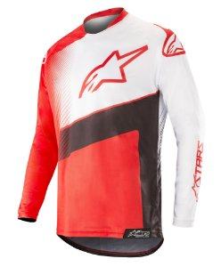 Camisa Cross Alpinestars Racer Supermatic 2018 Vermelha