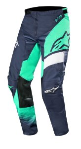 Calça Cross Alpinestars Racer Supermatic 2019 Azul Verde