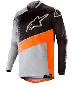 Camisa Cross Alpinestars Racer Supermatic 2019 Laranja KTM