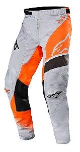 Calça Cross Alpinestars Racer Supermatic 2019 laranja KTM