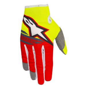 Luva Cross Motocross Alpinestars Radar Flight 2018 Amarelo