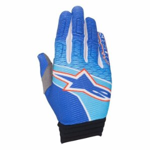 Luva Motocross Alpinestars Aviator 17 Azul Off Road
