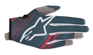 Luva Cross Motocross Alpinestars Radar 2019 Petroleo Bordo