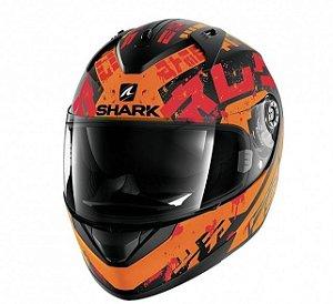 Capacete Shark Ridill Kengal - Laranja Fosco