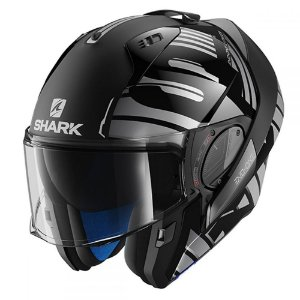 Capacete SHARK Evo One V2 Lithion Kua - Preto/Cinza