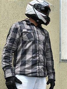 Jaqueta Tutto Moto Café Racer Shirt - Cinza