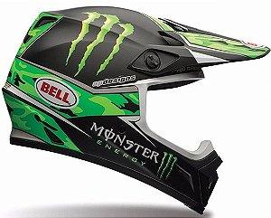 Capacete Motocross Bell Mx-9 Pro Circuit Replica Camo