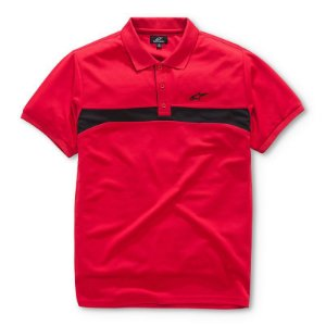 Camisa Alpinestars Polo Victory Vermelha