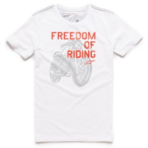 Camiseta Alpinestars Freedom OF Branco