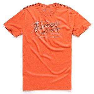 Camiseta Alpinestar Scratch Laranja