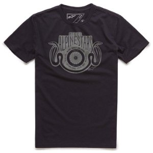 Camiseta Alpinestars Two Snakes Preto