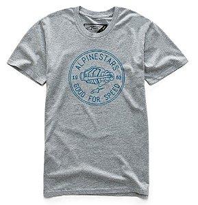 Camiseta Alpinestars Glove Cinza