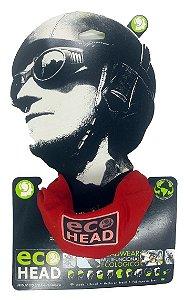 Bandana Ecohead Lenço Balaclava Mascara Eco Head Vermelho
