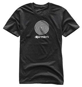 Camiseta Alpinestars Spiral Preto