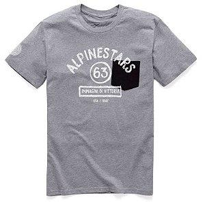 Camiseta Alpinestars Paint Premium Cinza