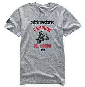 Camiseta Alpinestars Jump Premium Cinza