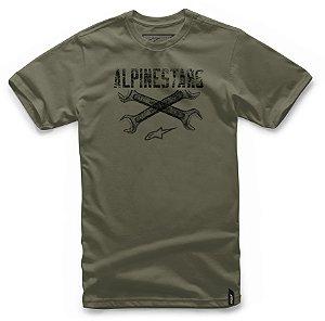Camiseta Alpinestars  Ratchet  Verde