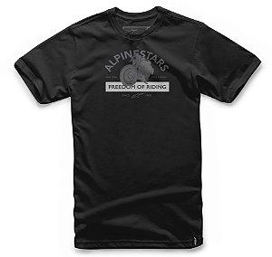 Camiseta Alpinestars Rocker Preto