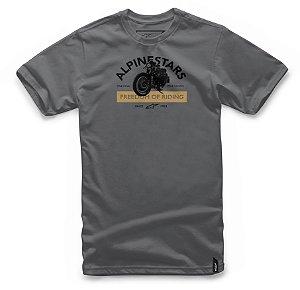 Camiseta Alpinestars Rocker Cinza