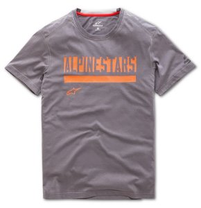 Camiseta Alpinestars Stated Ride Dry Cinza