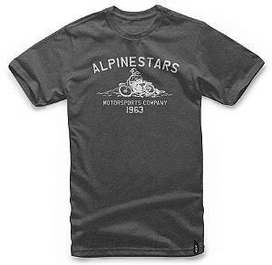 Camiseta Alpinestars Burnout Cinza