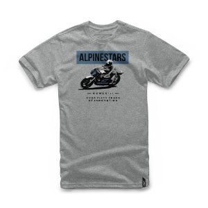 Camiseta Alpinestars Dee Cinza Claro
