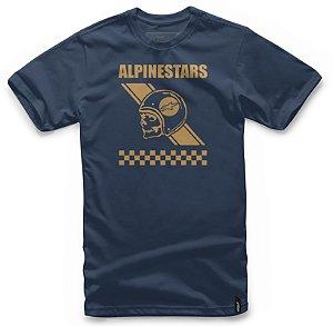 Camiseta Alpinestars Attitude Azul Marinho