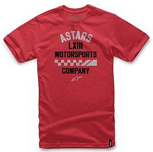 Camiseta Alpinestars  Signage Vermelho