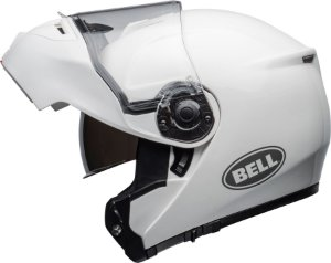 Capacete Bell STR Modular Robocop - Branco