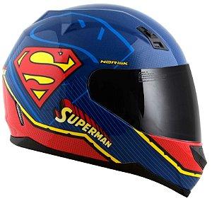 Capacete Norisk ff391 Superman Symbol