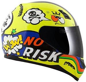 Capacete Norisk FF391 Panic - Amarelo