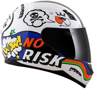Capacete Norisk FF391 Panic - Branco