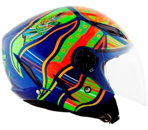 Capacete AGV Blade Five Continents - Azul