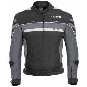 Jaqueta Tutto Veloce Cinza Impermeável Motociclista Moto