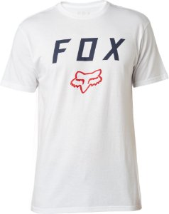 Camiseta Fox Contended Branca Sem Costura Lateral Original