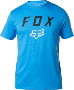 Camiseta Fox Contended Azul Sem Costura Lateral Original