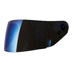 Viseira Iridium Blue Azul Capacete Norisk Ff302 Soul