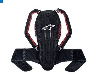 Protetor De Coluna Alpinestars Nucleon Kr-2 smoke kr2 advent