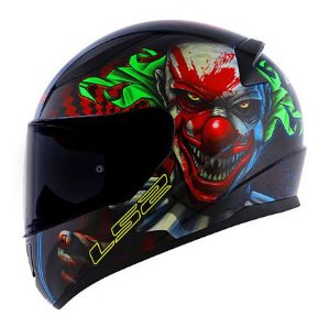 Capacete LS2 FF353 Rapid Happy Dreams - Preto