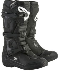 Bota Motocross Alpinestars Tech 3 Tech3 Preta Trilha Cross
